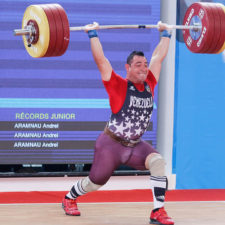 Jesús González es el nuevo campeón centrocaribeño de pesas