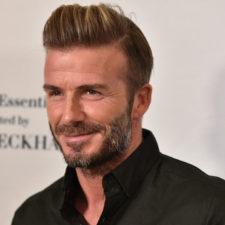 Beckham recibirá Premio Presidente de la UEFA