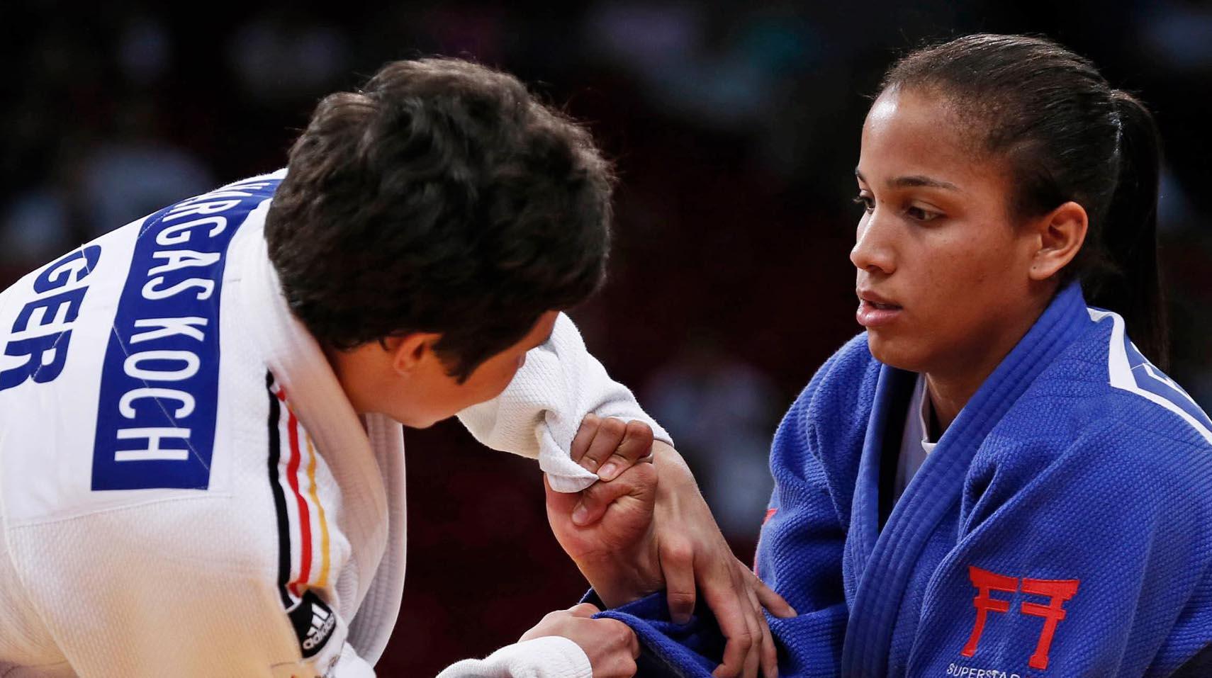 El Sumario - La venezolana obtuvo medalla dorada en la categoría de los 70 kilogramos del judo de los Juegos Centroamericanos y del Caribe de Barranquilla