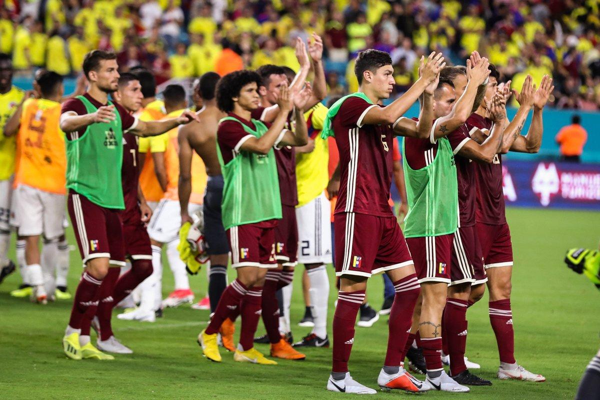 El equipo vinotinto jugó un partido oficial nuevamente tras 298 días de inactividad futbolística