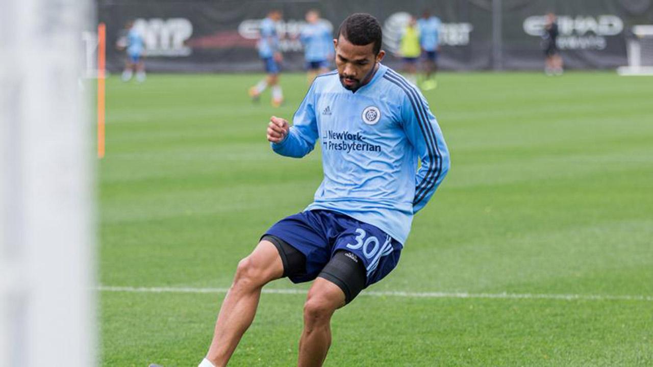 El futbolista venezolano del New York City FC de la MLS avanza con trabajos físicos en su recuperación