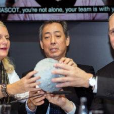 """Robot MASCOT aterriza en asteroide """"Ryugu"""" y manda primeras imágenes"""