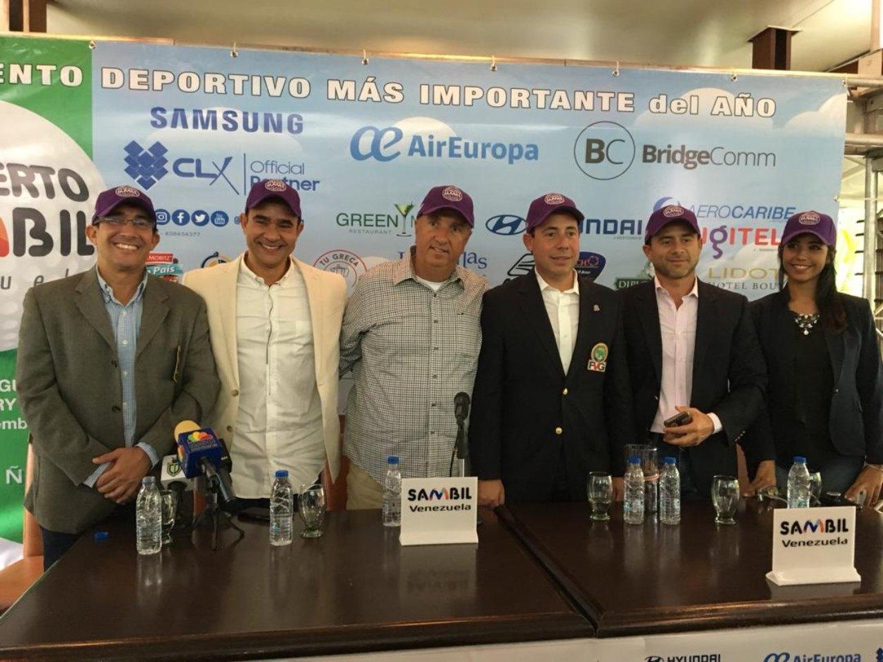 El evento deportivo de golf contará con los mejores jugadores tanto profesionales como amateurs del país