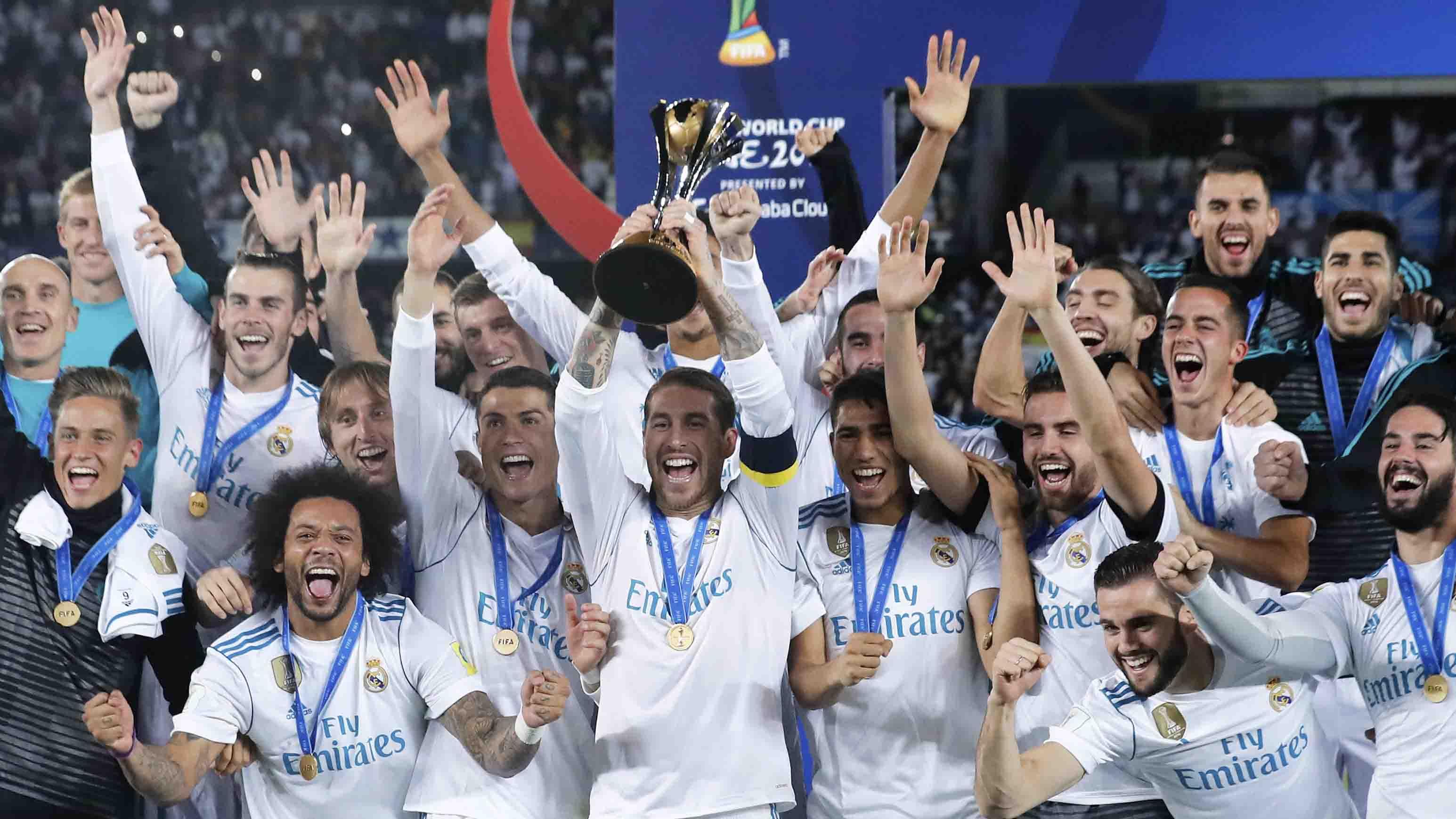 El Real Madrid ha ganado las últimas tres ediciones del torneo; también levantó el trofeo en 2014