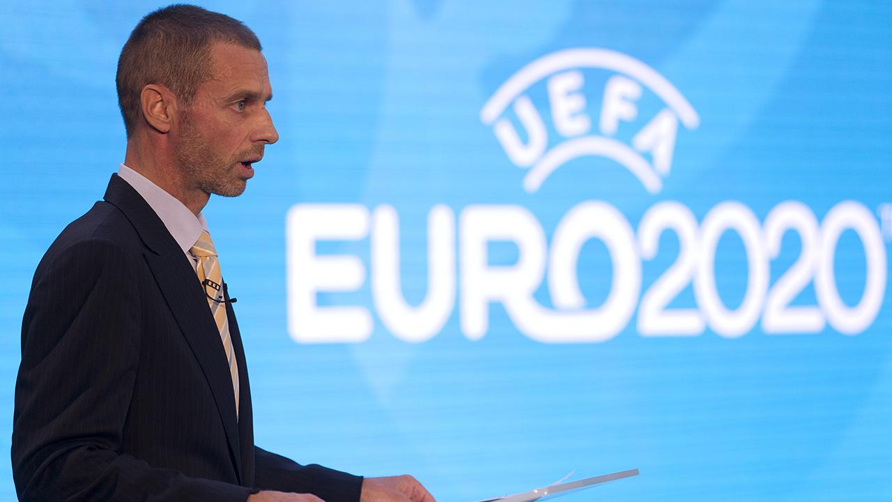 El presidente del organismo de fútbol europeo, Aleksander Ceferin, quiere una candidatura únicamente de países europeos