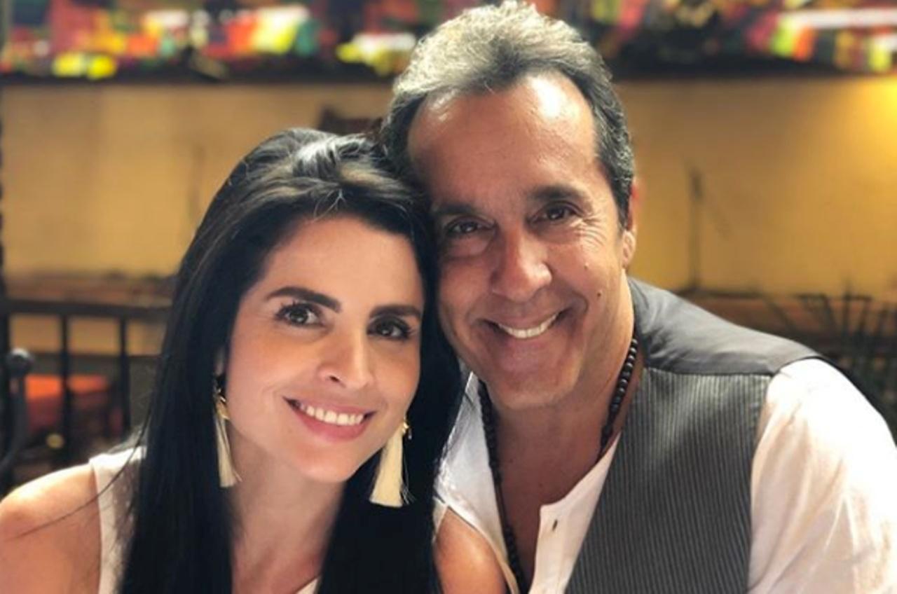 La actriz venezolana informó el nacimiento de su pequeño Santiago Jesús Tamayo a través de Instagram