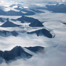 Hallan dos nuevas especies de hongos en un glaciar ártico en Canadá