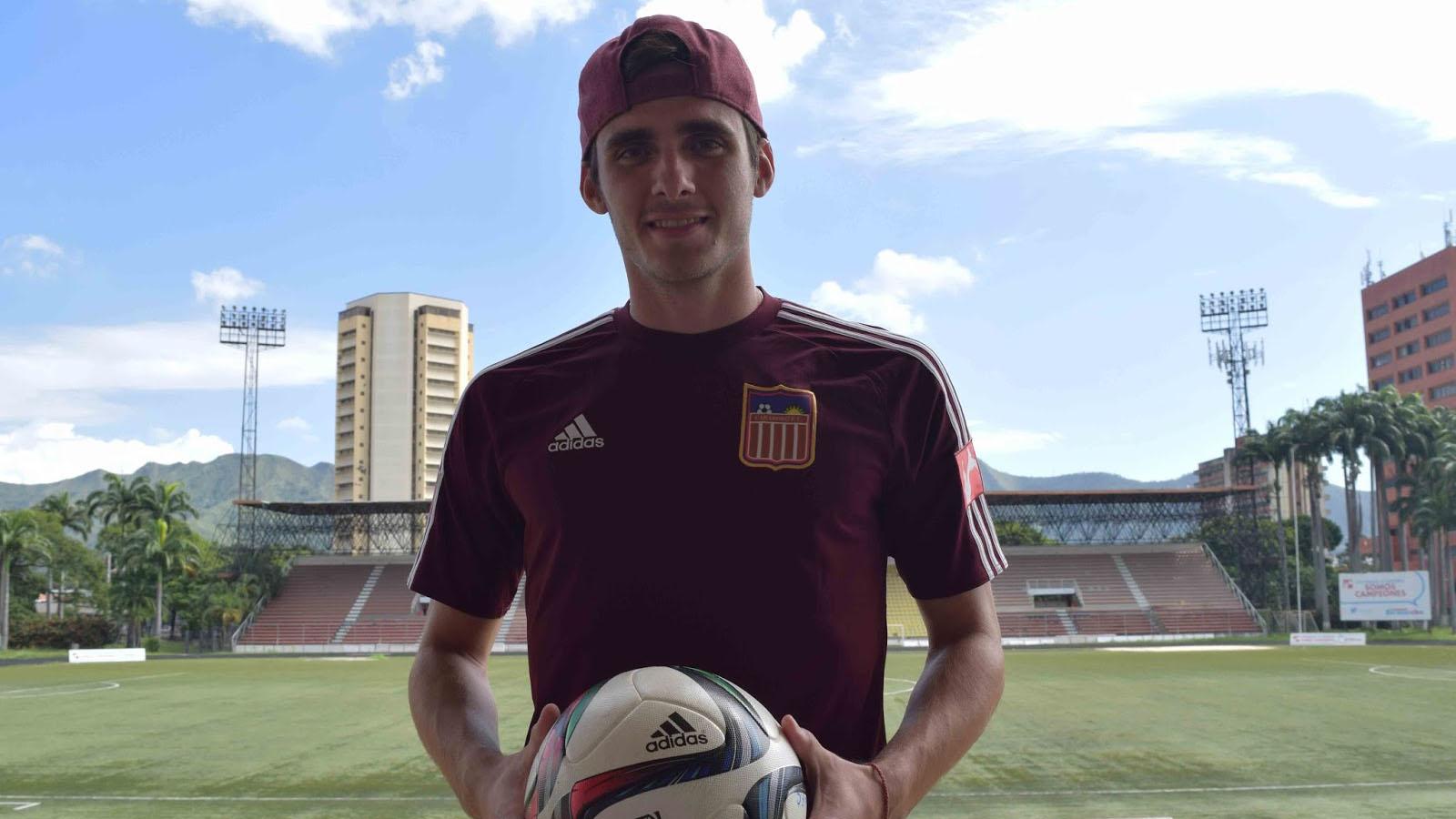 El Sumario - El lateral izquierdo venezolano firmó contrato por un año con el conjunto internacional