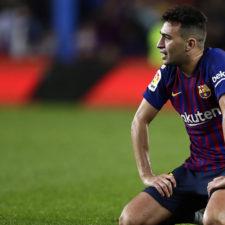 Munir El Haddadi se perderá la eliminatoria ante el Barcelona