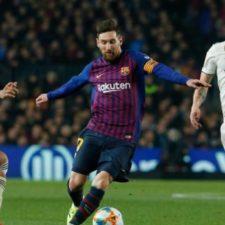 Real Madrid y Barcelona se enfrentan para el pase a la final de la Copa del Rey