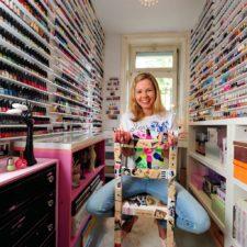 La mayor colección de esmaltes de uñas está en Alemania