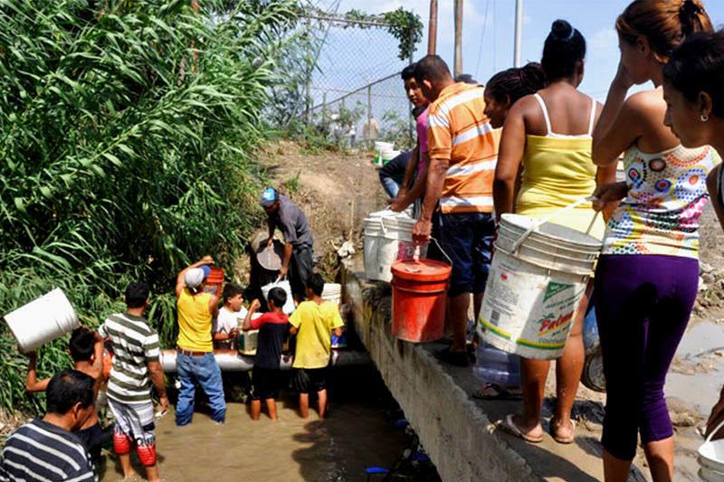 Crisis del servicio de agua potable