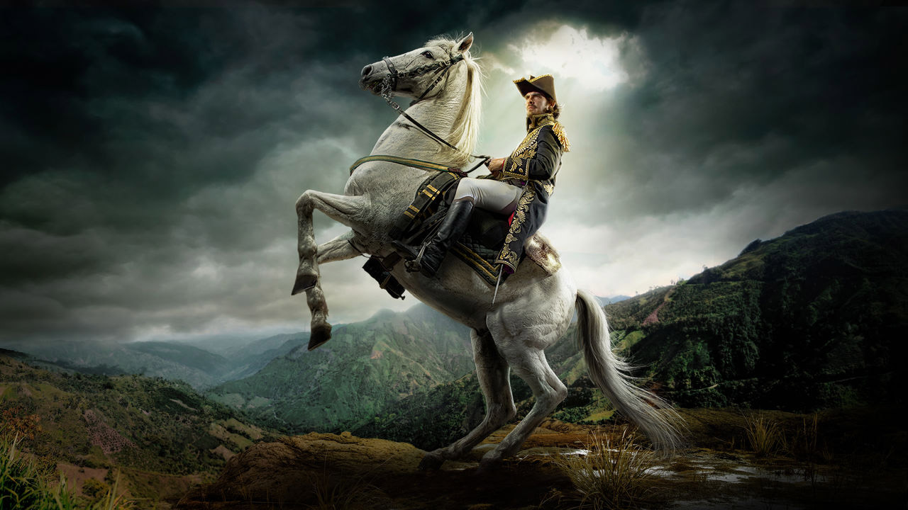 La serie biográfica sobre el Libertador fue producida por Caracol TV, y estará protagonizada por el actor venezolano, Luis Gerónimo Abreu