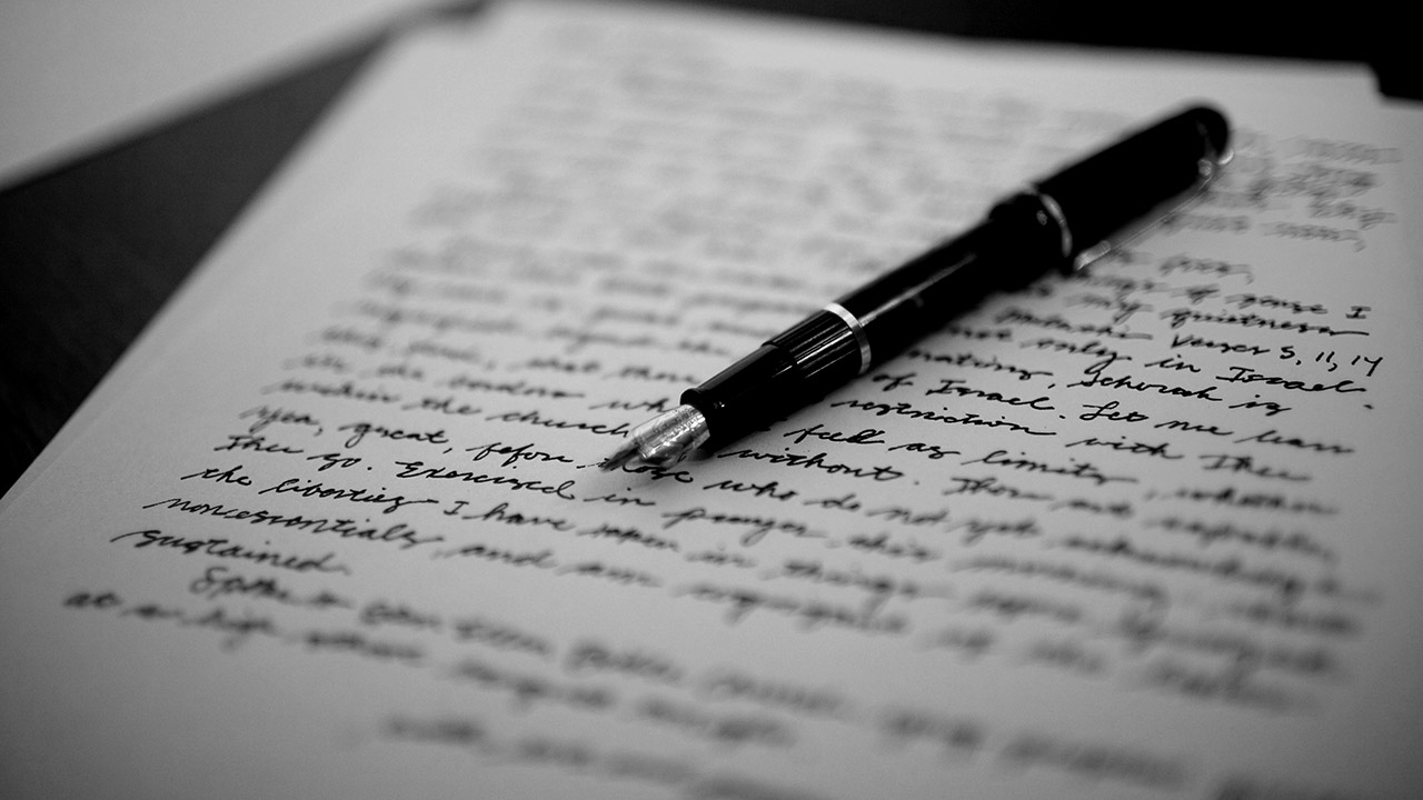 Algunos de los escritos ya continuaron su camino hacia el Archivo Alemán de Literatura de la ciudad de Marbach