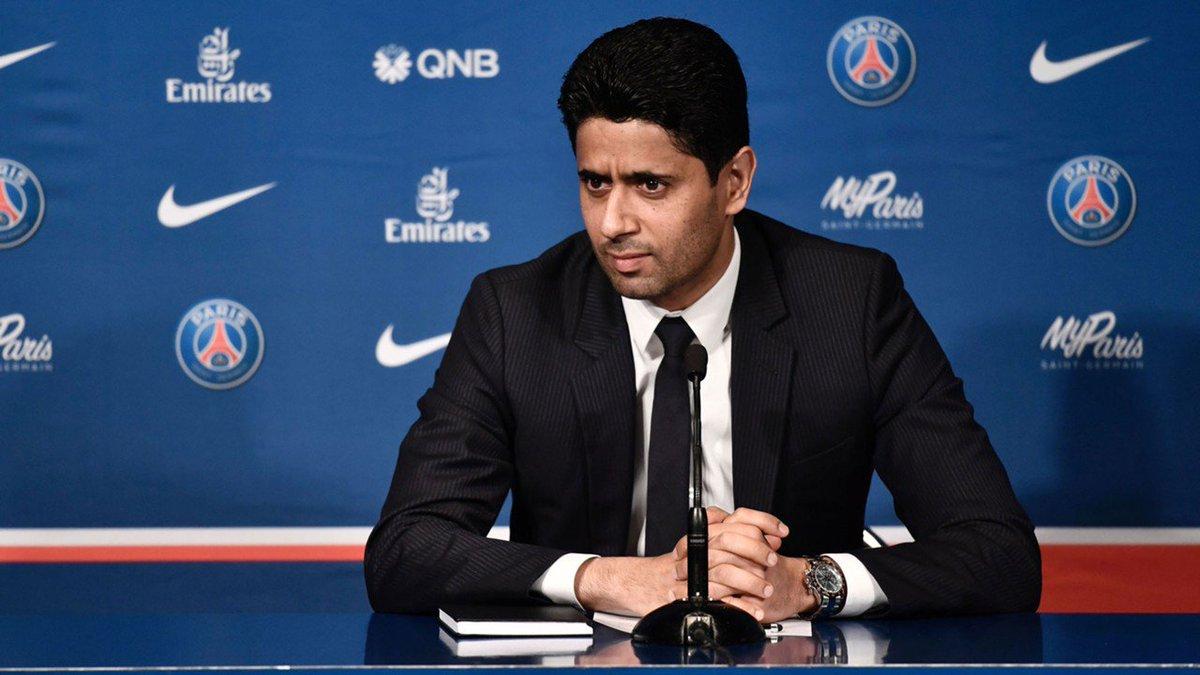 El máximo jefe del club francés está seguro de que el atacante galo se mantendrá en la entidad parisina