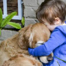 Beneficios de adoptar un perro para los niños