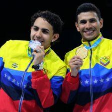 Hermanos Limardo conquistaron oro y plata en los Panamericanos