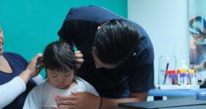 Niños con síndrome de Down reciben una mano solidaria de la FY