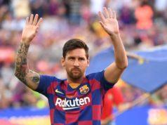 Messi agradeció al personal sanitario su trabajo en la crisis del coronavirus