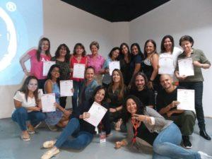 Primer grupo Facilitadores Nivel I en Venezuela, Septiembre de 2019