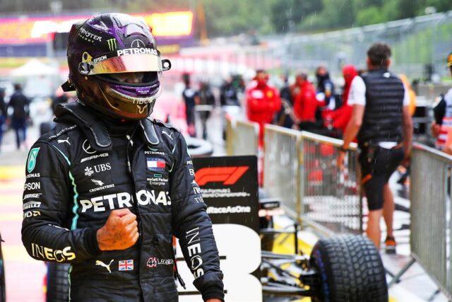 Lewis Hamilton conquistó la pole 89 de su carrera en la F1