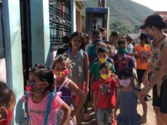 Movimiento Integral para la Vida llevó apoyo a niños de Los Jardines