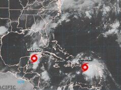 Laura y Marco causan estragos en el Caribe