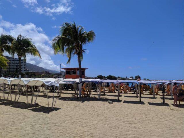 Realizan simulacro en La Guaira para futura reapertura de las playas