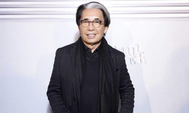 Falleció el diseñador Kenzo Takada por complicación del Covid-19
