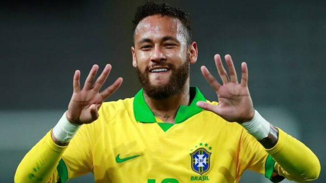 Neymar superó a Ronaldo y está a 13 goles de Pelé