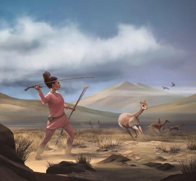 Las feminas cazadoras fueron parte importante para los primeros grupos de supervivencia en la prehistoria
