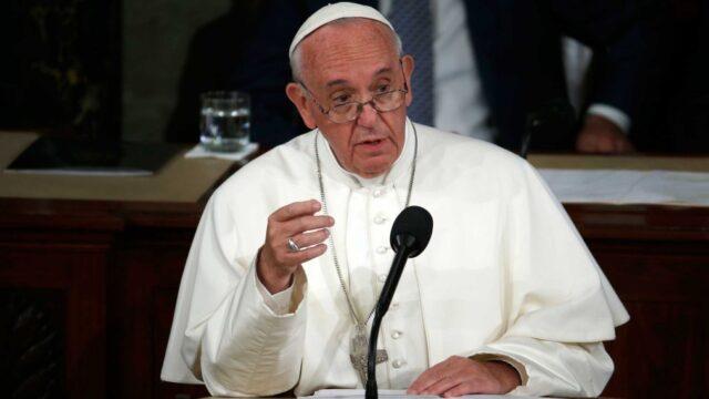 Papa Francisco habló sobre la importancia de proteger al medio ambiente