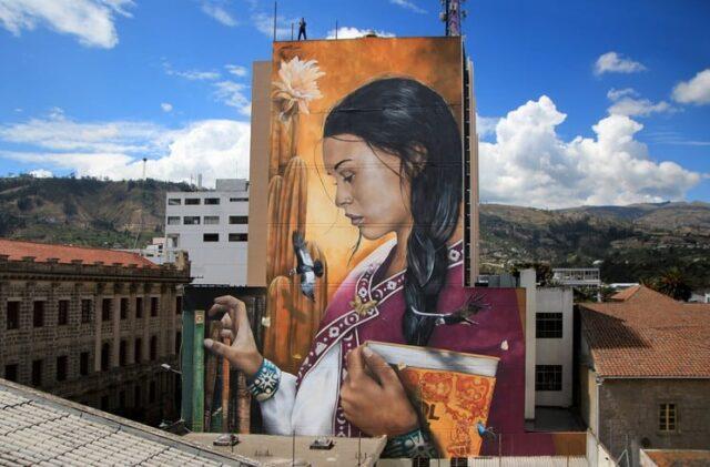 El Sumario - Mira los murales que un artista francés crea, para dejar mensajes importantes
