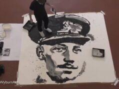 El Sumario - Un artista rinde homenaje al Capitán Sir Tom Moore con un impresionante retrato