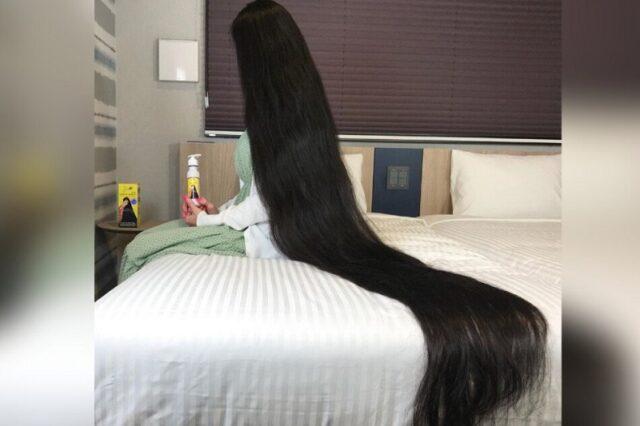 Conoce a la Rapunzel de carne, hueso y cabello de verdad