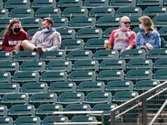 Solo permitirán el 20 % de aficionados en los campos de béisbol en Chicago