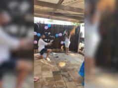¡Triple celebración! Mira cómo un joven le propone matrimonio a su novia embarazada