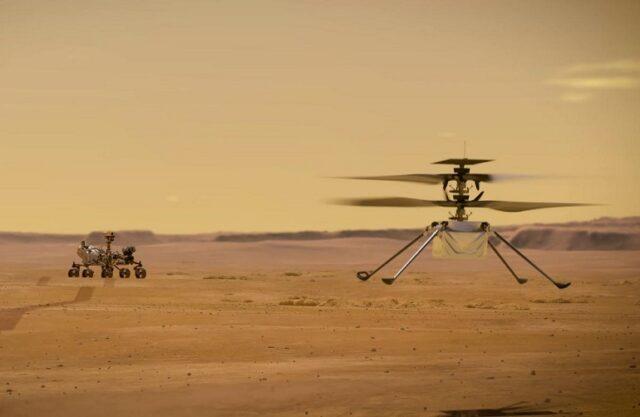 El Sumario - El helicóptero Ingenuity tocó superficie de Marte