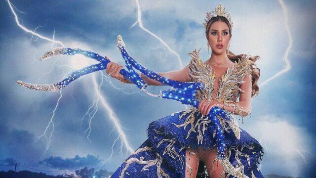 """El Sumario - Mariangel Villasmil deslumbra con el """"Relámpago del Catatumbo"""" en el Miss Universo"""