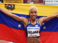 Yulimar Rojas logró segunda marca histórica en triple salto