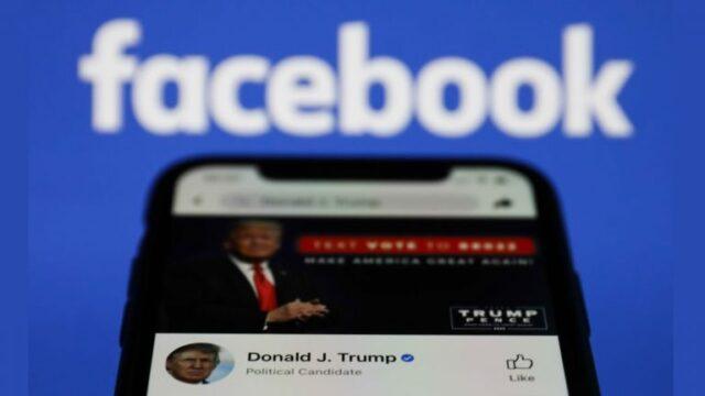 Cuentas en redes sociales de Donald Trump permanecerán suspendidas por dos años