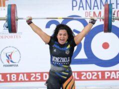 Dos venezolanos en levantamiento de pesa clasifican para Tokio 2020