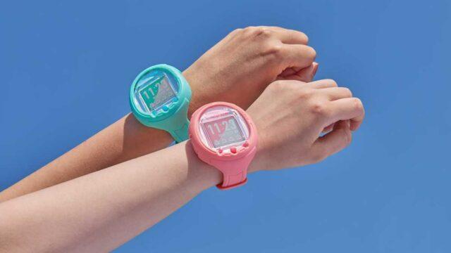 Tamagotchi ahora es un reloj inteligente con pantalla y micrófono