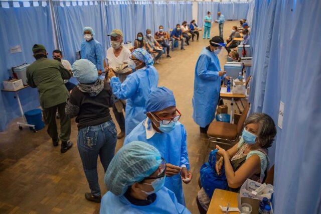El Sumario - La Cruz Roja venezolana se suma a la campaña de vacunación masiva
