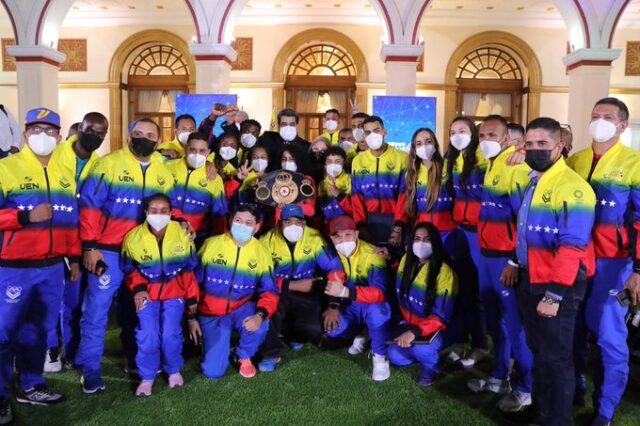 Venezuela abandera a su delegación para los Juegos Olímpicos