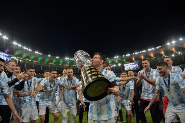 Argentina se impone ante Brasil y se lleva la Copa América
