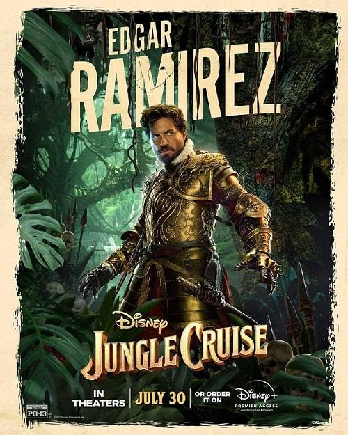 """El Sumario - Edgar Ramírez habla sobre su participación en """"Jungle Cruise"""" de Disney"""