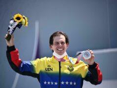 El Sumario - Medallista olímpico Daniel Dhers llegó a Venezuela