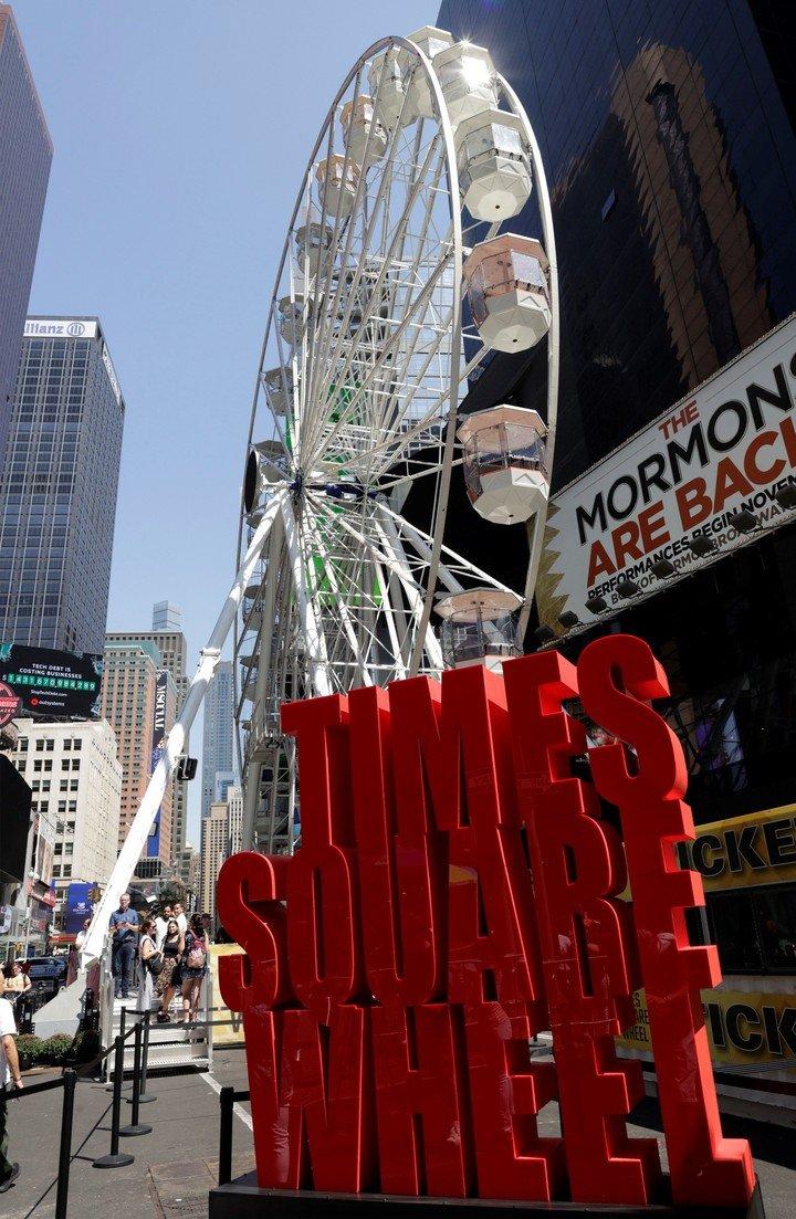 El Sumario – Inauguran una rueda de la fortuna gigante en el centro de Nueva York