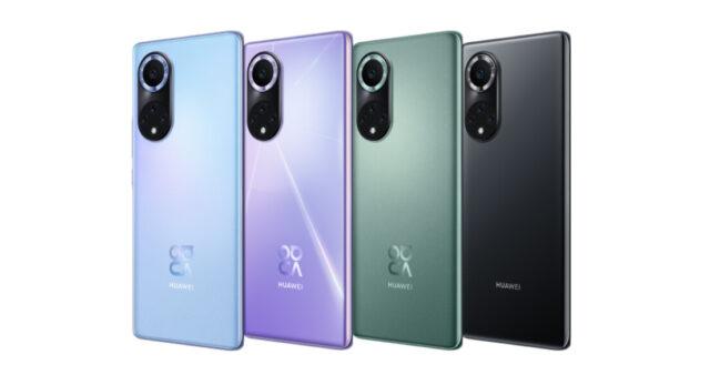 Huawei presenta Nova 9 con 100W de carga rápida y pantalla OLED de 120Hz